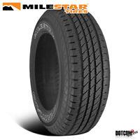 1 X New Milestar Grantland H/T 225/65R17 100T All-Season Performance Tire