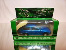 MERCURY 306 ALFA ROMEO ALFETTA GT COUPE - BLUE 1:43 - GOOD CONDITION IN BOX