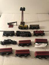 VTG Marx Commodore Vanderbilt Rounded Top Tin Toy Train Pullman Montclair Bogota