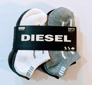 Diesel Kids Socks Pack Of 6 Size 7-8.5