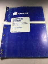 Fiat Allis Electrical Systems Service Manual