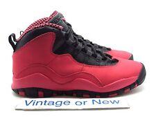 Girls Nike Air Jordan X 10 Fusion Red Retro GS 2013 sz 4Y