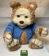 Playskool TJ Bearytales Animated Talking Moving Animatronic Stuffed Plush Bear