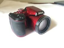 Nikon B500 Coolpix Digital Compact Camera - Red GOOD CONDITION