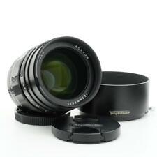 Voigtlander Nokton 42.5mm F/0.95 Lens for Micro 4/3 Mount