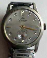 Vintage Lucerne Electra Watch -Crystal-Enhanced Silver Dial -Lifetime Mainspring