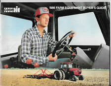 Case International Farm Equipment Buyers Guide 1986