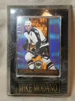 1997-98 Mike Modano Dallas Stars Dynagon Ice Player Card On Wall Plaque ~ NEW