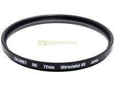 72mm. Filtro UV MC Calumet. Ultra violet filter.