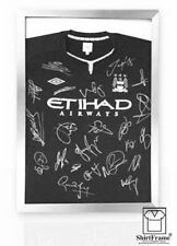 FRAMES TO DISPLAY FOOTBALL SHIRTS-SHIRT FRAME-FOR SIGNED-SILVER CLASSIC memrouk
