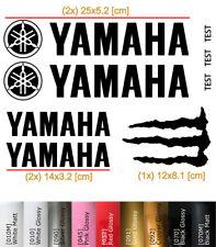Yamaha Logo Sticker Set Motorcycle Classic Vinyl Decal Motorrad Aufkleber