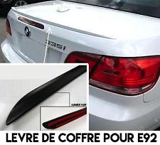 SPOILER BECQUET LEVRE COFFRE pour BMW E92 SERIE 3 COUPE 2006-13 M M3 Alpina 335i