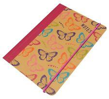 Collins Notepad Notebook Jotter - A5 Butterflies Design 192 pages - Feint Ruled