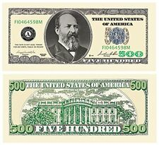 Set of 10 Bills-Five Hundred Dollar Bill New