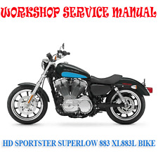 HD SPORTSTER SUPERLOW 883 XL883L BIKE 2010-2014 WORKSHOP MANUAL (DIGITAL e-COPY)