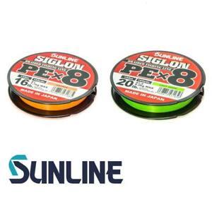 Sunline Siglon PE X8 150 m geflochtene Schnur Made In Japan (0,18 EUR/m)