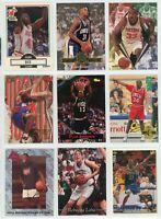 (48) NBA ROOKIE Basketball Cards - RAY ALLEN, GRANT HILL, GARNETT Lot