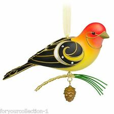Hallmark 2015 Western Tanager Beauty of Birds Series Ornament