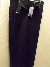 PENTALONS FEMME BGN PANTS Taille 38 M /10 UK- Noir / NEUF NEW