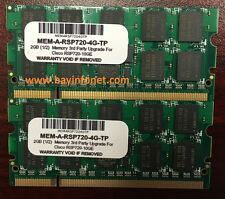 MEM-A-RSP720-4G 4GB (2x2GB) Memory Kit 3rd Party For Cisco RSP720 MSFC4