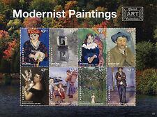 Grenada 2015 MNH Modernist Paintings 8v M/S Art Van Gogh Cezanne Monet Matisse