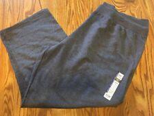 3ac8eadf429 2 Just My Size Womens Fleece Pants Open Leg Petite 5x 30w-32w)