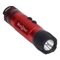 Nite Ize Radiant 3-in-1 LED Mini Flashlight Red 80 Lumens Lantern Camping Light