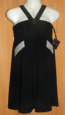 """NEW/TAGS PIPER LANE Stretch Jersey, """"POPPYSEED"""" Short Dress/Tunic Top Size 8-10"""