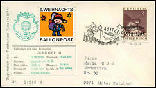 Austria 1969 Christmas Christkindl Balloon Post Cover #C18346
