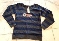 NWT OURAY Women's Striped Long Sleeve Okoboji View Crew Golf Shirt SMALL