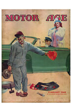 New Hot Rod Poster 11x17 February 1948 Motor Age Valentine Classic Car Cover