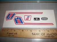 """""""EVEL KNIEVEL"""" SUPER JET CYCLE STICKERS"""