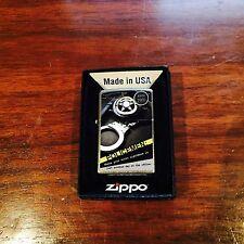 "Zippo Lighter Policemen ""Where Your Worst Nightmare"" 2011 Design"