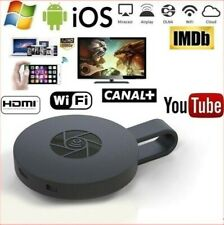 Chromecast 4th Generation 1080P HDMI Media Video Streamer Player Mirascreen HD