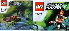 2x LEGO Galaxy Squad 2 Figuren + Mini Mech & Insekt 30230 + 30231