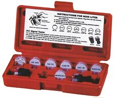 Deluxe Noid Light Set - 9 Piece Electronic Fuel Injection Tester Kit with Case