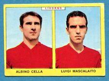 Nuova CALCIATORI PANINI 1966-67 -Figurina-Sticker- CELLA#MASCALAITO -LIVORNO-New