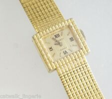 Dufonte Women's Vintage Gold Tone Mechanical Watch