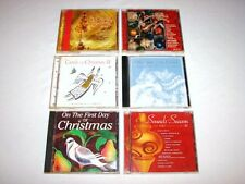 CD Lot - 6 Christmas Holiday Music Manheim Kelly Clarkson Ben Harper Alicia Keys
