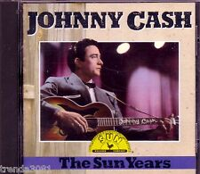 JOHNNY CASH The Sun Years RHINO CD Classic Greatest 60s Country HEY PORTER