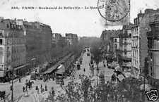 CPA France, Paris 20e, Boulevard de Belleville (48661)