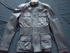 BELSTAFF Damen LEDER Jacke jacket Blouson schwarz Gr 42 (ital.) Long Brian NEU
