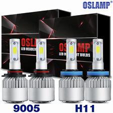 2Pair CREE LED Headlight Bulbs 1800W 9005 H11 High +Low Beam Combo HID Xenon Kit
