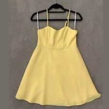 Forever 21 Yellow Dress Small