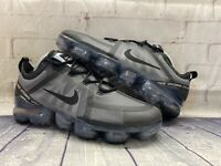 Nike Air Vapormax 2019 Ghost Black Running Shoes AR6631-004 Men's Size 9