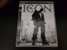 Def Jam: Icon [PlayStation 3] [PS3] [Complete!]