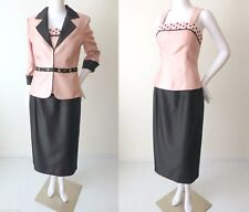 CATERINA MASONI Skirt AND Top AND Jacket Suit Size 8  US 4 rrp $550.00
