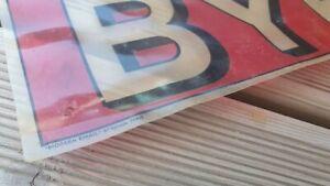 Feuille publicitaire PUB byrrh pour plaque modern email paris Voltaire boulevard