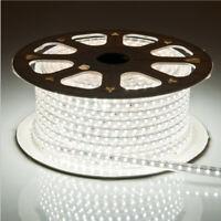 White LED Rope Strip Light 2835 SMD 120LED/M DC24V IP67 Waterproof Flexible Tape