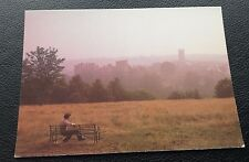 POSTCARD: VIEW FROM LUDLOW FROM WHITCLIFFE: COLOUR: UN POSTED